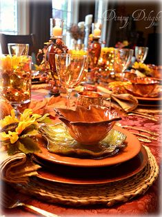 Thanksgiving 2017 Tablescape