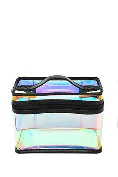 f6e7ac7ad5a0 Iridescent Makeup Bag Forever 21 Bags