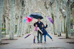Sesión de fotos de familia en exterior en la lluvia,274km, fotografia, invierno, hivern, barcelona