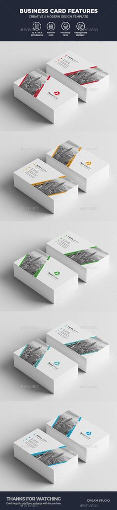 #Business #Cards - Business Cards Print Templates Download here: https://graphicriver.net/item/business-cards/19930298?ref=alena994