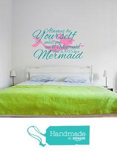 Mermaid Wall Decal from Sticky Wall Vinyl http://www.amazon.com/dp/B017VE0RXC/ref=hnd_sw_r_pi_dp_3TWaxb0B8JJDB #handmadeatamazon