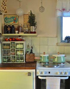 Fröken Gröns Blogg: I vårt kök
