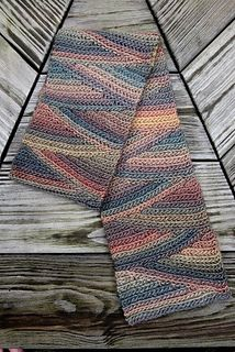 Slip Slope Scarf by Vashti Braha, free pattern and tutorial for this project is available through the Ravelry website. Create your own magic with elann Meander available from Amazon. http://international.elann.com/