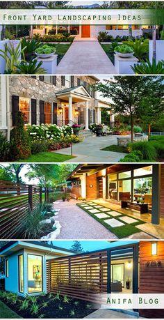 17 Best garden and front yard landscaping design You'll love #garden #landscaing #frontyard #backyard