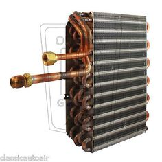 cool 1967-68 FORD MUSTANG HI-PO AC Evaporator Coil AC Air Conditioning Boss Mach-1 - For Sale