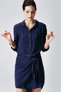 Bloomsbury Tie Dress - anthropologie.com