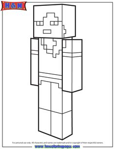 Alex From Minecraft Coloring Pages Printable And Book To Print For Free Find More Online Kids Adults Of