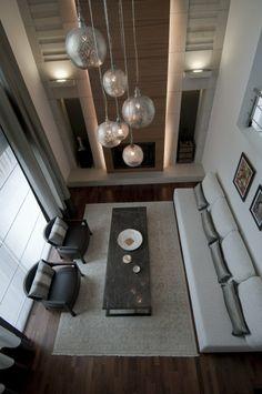 projevve mimarlık -mayavera evi -sarkıt aydınlatma