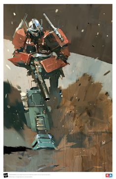 ThreeA to Offer Limited Edition Ashley Wood Optimus Prime Art Print at TFcon Chicago 2016 - Transformers News - TFW2005