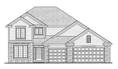 2321 sq. ft. - 4 BR/3 BA , 2 Story, 3 Garage Stalls by Monster House Plans - Plan 10-1398