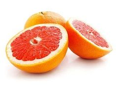 Foods that help you lose weight! Grapefruit, celery, carrots, pineapple, mango, garlic...