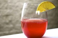 Cranberry Champagne Chiller