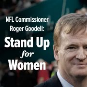 PETITON: Tell NFL Commissioner Goodell to take violence against women seriously! A 2 game suspension for domestic violence? Get real!! girrrrrl stuff