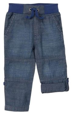NWT Gymboree, MIX 'N' MATCH, Chambray Roll-up Pants   Available in our online store at http://stores.ebay.com/starbabydesignshomestore