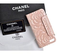 New Arrival Real Chanel Camellia iPhone 6 Cases - iPhone 6 Plus Cases - Cover Pink - Free Shipping - Chanel & Louis Vuitton Authorized Store