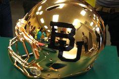 New #Baylor football helmet? (via @OurDailyBears)