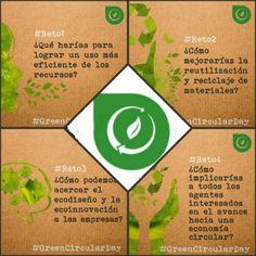Green Circular Day. Algunas ideas como el acercar a la población a los procesos de reciclaje, incentivar a la ciudadanía (carnets de voluntario con puntos), repair café...