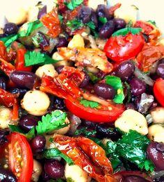Beautiful Balela Salad - Recipe, Gluten Free, Delicious, Healthy, Versatile, Appetizers, Quick, Easy, Vegetarian