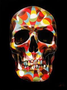Painted Skulls by Gerrard King: http://skullappreciationsociety.com/painted-skulls-by-gerrard-king/ via @Skull_Society