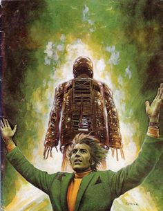 Edited cover of Cinefantastique Vol 7 Horror Films, Horror Art, Germanic Tribes, Wicker Man, Fan Poster, Horror House, Picts, Film Posters, Great Movies