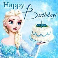 Sensational Pin By Elsa De La Torre On Frozen With Images Happy Personalised Birthday Cards Paralily Jamesorg