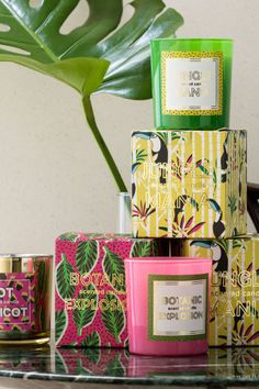 3 Designer Ways to Decorate with Candles in the Bedroom Candle Packaging, Candle Labels, Tropical Colors, Tropical Decor, Candle Diffuser, H&m Home, Home Scents, Luxury Candles, Taper Candles