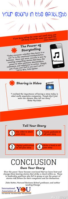 Storytelling Infographic! Are you telling a powerful story? #Storytelling