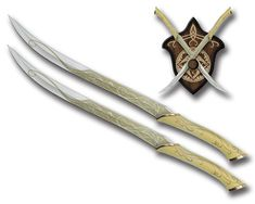 elven swords | The elfos knives of Legolas only use them in combat to short distances ...