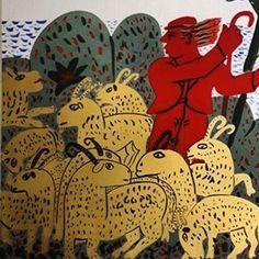 pinkpagodastudio Alekos Fassianos Moving To Paris, Stage Decorations, Greek Art, Bookbinding, Textile Design, Book Art, Modern Art, Illustration Art, Artsy