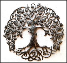 Hey, I found this really awesome Etsy listing at https://www.etsy.com/listing/218322509/tree-metal-art-wall-hanging-decorative