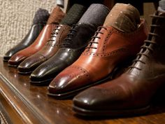 """paulstuartny:  """" Nick V. of B. Nelson Shoes talks with our Director of Footwear about his three decades in the footwear trade, footwear sourcing & styling, and our current offerings. Read the interview on Style Forum.  """""""