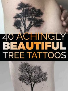 40 Achingly Beautiful Tree Tattoos | TATTOOBLEND