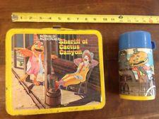 VINTAGE 1982 Ronald McDonalds Sheriff of Cactus Canyon Lunchbox