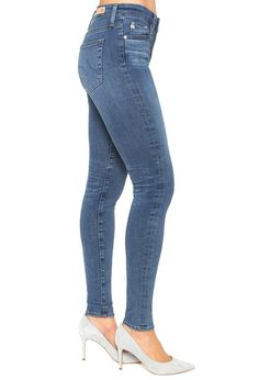 AG Jeans Official Store, The Farrah Skinny - 14 Years Songbird, 14 years songbird, Women's the Farrah Skinny, MSD1379