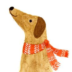Katie Wilson Woof #illustration #dog