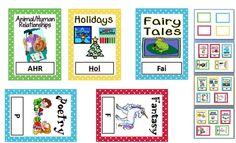 Book Basket Labels Book Basket Labels, Book Bin Labels, Book Baskets, Classroom Décor, Classroom Organization, Classroom Management, Too Cool For School, School Stuff, Back To School