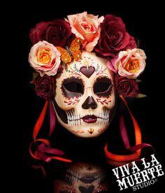 Puñal en el corazón  Dia de los Muertos/ Day by VivalaMuerteStudio