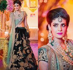 Sabyasachi bride # Deccan bride # lehenga # hand work # Indian bridal fashion