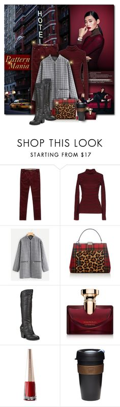 """""""Pattern Mania"""" by beograd-love ❤ liked on Polyvore featuring Daniel Wellington, DUBARRY, Tommy Hilfiger, Paul Brodie, American Rag Cie, Bulgari and KeepCup"""