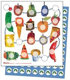 The Very Hungry Caterpillar Mini Incentive Charts, rack student progress with assignment, behavior, goals, and so much more with the fun theme of The Very Hungry Caterpillar mini incentive charts. Includes 630 colorful stickers!