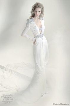 """Marina Mansanta bridal collection, """"Ninfe"""""""