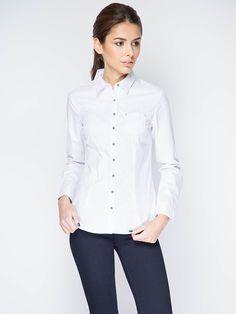 Купить женскую белую рубашку в интернет магазине рубашек