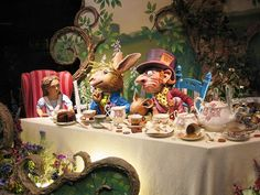 Alice in Wonderland Christmas Windows Shop at Fortnum and Mason, London #3 by norbypix, via Flickr