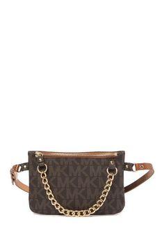 7d0b082a905d Image of Michael Kors Pull Chain Belt Bag Pull Chain
