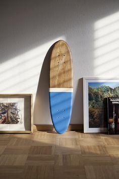 Bilander Boards. Minimal and surfboard-esque.