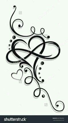 Like the heart and infinity