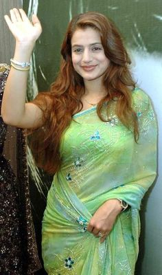 Actress Amisha Patel in Saree Beautiful Girl Indian, Most Beautiful Indian Actress, Beautiful Saree, Beautiful Women, Beauty Full Girl, Beauty Women, Sonam Kapoor, Deepika Padukone, Saree Photoshoot
