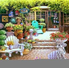 GARDEN SHOP (100 pieces)