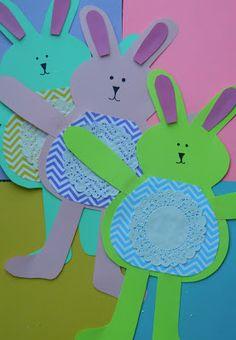 the vintage umbrella: bunnies and chicks