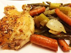 The Famous Roasted Chicken. This recipe is easy to make, and is ALWAYS a hit.